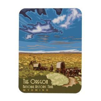 Oregon Trail Rectangular Photo Magnet