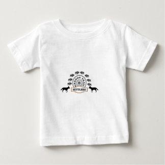 oregon trail settlers tough baby T-Shirt