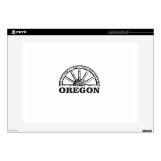oregon trail simple wheel laptop decal