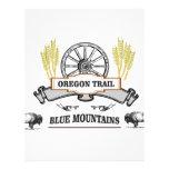 oregon trail tame the blues letterhead
