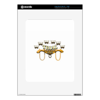 oregon trail trial art yeah decal for the iPad