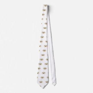 oregon trail trial art yeah neck tie