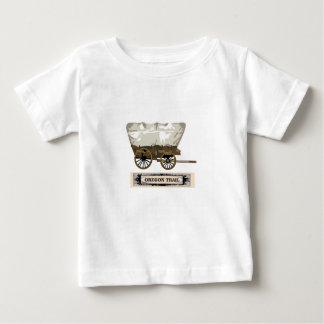 oregon trail wagon west baby T-Shirt