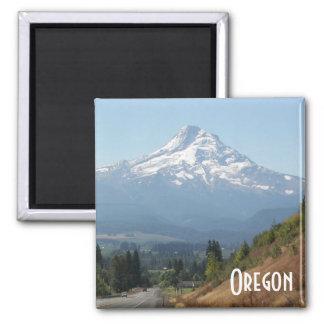 Oregon Travel Photo 2 Inch Square Magnet