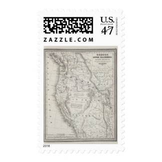 Oregon, Upper California and New Mexico 2 Postage