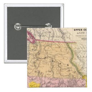 Oregon, Upper California and New Mexico Button