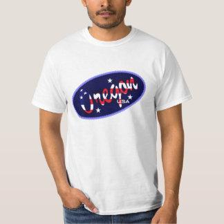 Oregon USA flag colours t-shirt