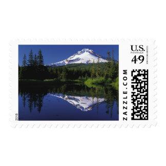 Oregon USA Mount Hood Volcano Stratovolcano Stamp