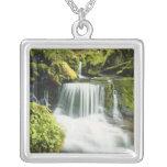 Oregon, Waterfall in Willamette national Custom Necklace