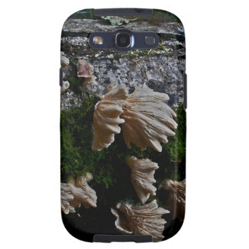 Oregon Wild Forest Mushrooms Galaxy S3 Cover