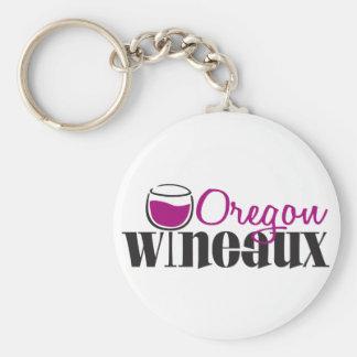 Oregon Wine Girl Keychain