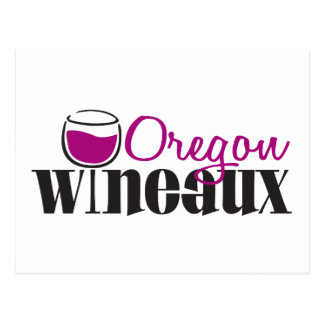 Oregon Wine Girl Postcards