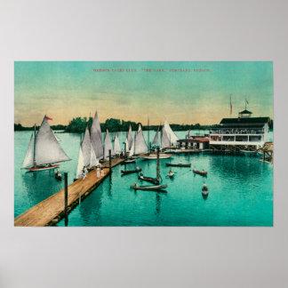 Oregon Yacht Club Poster