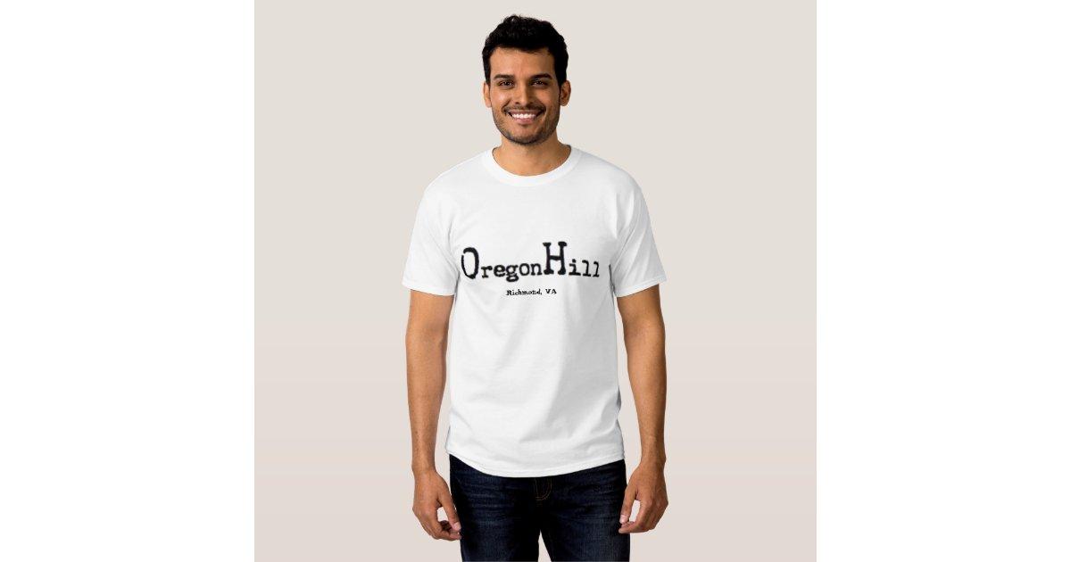 Oregonhill logo richmond va t shirt zazzle for T shirt printing richmond va