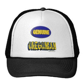 Oregonian auténtico gorras de camionero