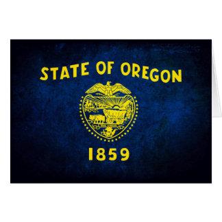 Oregonian Flag; Card