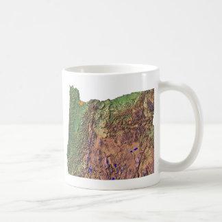 Oregonian Flag + Map Mug