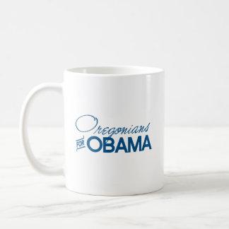 Oregonians for Obama -.png Coffee Mugs