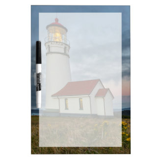 Oregon's oldest lighthouse at Cape Blanco State Dry Erase Board