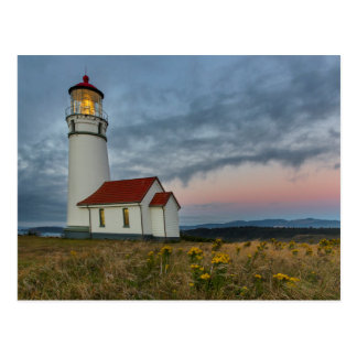Oregon's oldest lighthouse at Cape Blanco State Postcard