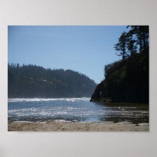 Oregon's Sunny Coast Poster