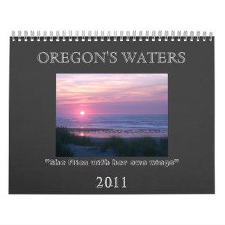 OREGON'S WATERS 2011 CALENDAR