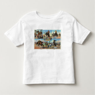 OregonScenic Views of Rodeo Bronco Busters Toddler T-shirt