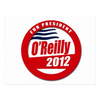 O'Reilly 2012 button Postcard