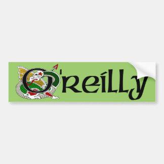 O'Reilly Celtic Dragon Bumper Sticker