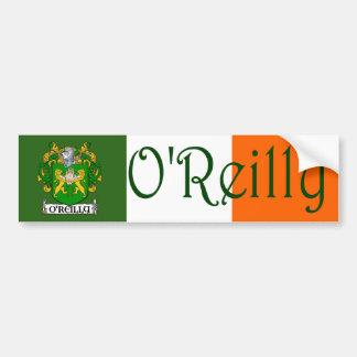 O'Reilly Coat of Arms Flag Bumper Sticker
