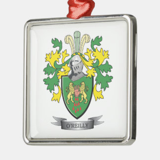 O'Reilly Coat of Arms Metal Ornament