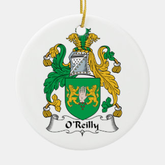 O'Reilly Family Crest Ornaments