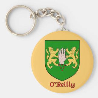 O'Reilly Family Shield Keychain