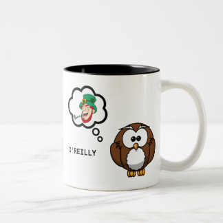 O'Reilly Owl St Patrick's Day Mug