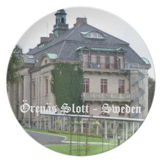 Orenas Slott - Sweden Dinner Plate
