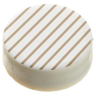 Oreo Cookies stripe Gold-White