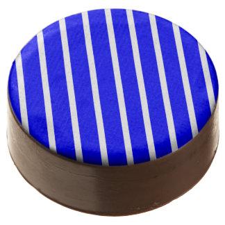 Oreo Cookies stripe White-Royal Blue