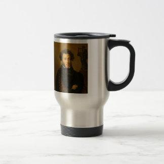 Orest Kiprensky- Portrait of Alexander Pushkin Travel Mug