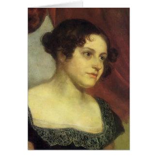 Orest Kiprensky- Portrait of Anna Furman Card