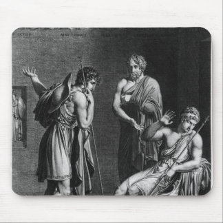 Orestes and Pyrrhus Mouse Pad