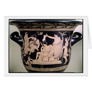 Orestes como Suppliant en la capilla de Apolo aden Tarjeta De Felicitación