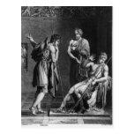 Orestes y Pyrrhus Postal