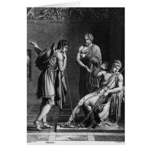Orestes y Pyrrhus Tarjetas