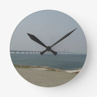 Oresund Bridge Round Clocks