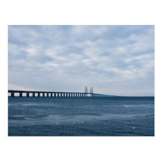 Oresund Bridge Postcard
