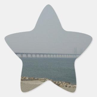 Oresund Bridge Star Sticker