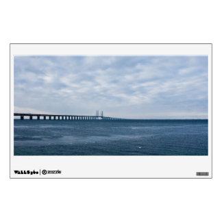 Oresund Bridge Wall Decal