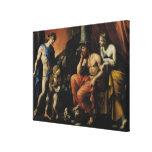 Orfeo antes de Plutón y de Persephone Lona Envuelta Para Galerias