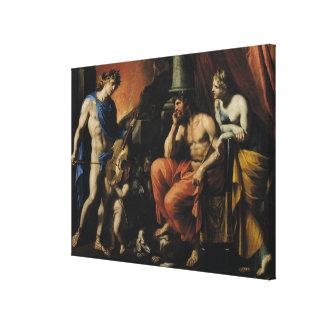 Orfeo antes de Plutón y de Persephone Lona Estirada Galerias