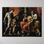 Orfeo antes de Plutón y de Persephone Póster